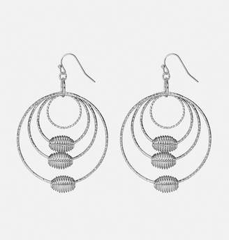 Avenue Multi Circle Coil Hoop Earring