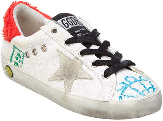 Golden Goose Patch Accented Sneaker