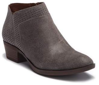 Lucky Brand Brintly Leather Ankle Bootie
