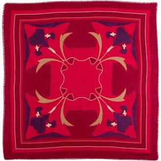Pariscarves Maxims de Paris Floral Wool Shawl