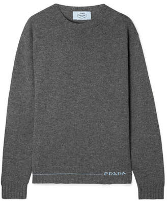 Prada Cashmere Sweater - Gray