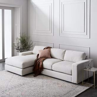 west elm Urban 2-Piece Chaise Sectional - Small