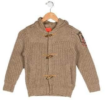 Boys' Wool-Blend Cardigan