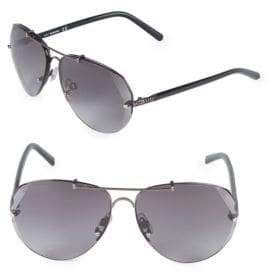 Swarovski 64MM Crystal Aviator Sunglasses