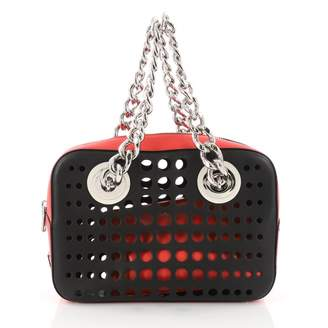Prada City Fori Chain leather handbag