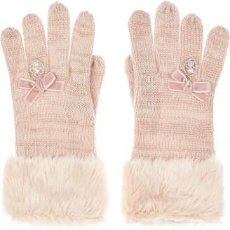 Monsoon Sparkling Ring Novelty Gloves