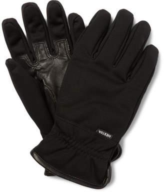 Hestra Windstopper© Leather-trimmed Shell Gloves