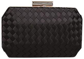 Carvela Gianna Satin Clutch Bag, Black