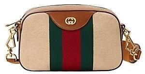 Gucci Women's GG Vintage Canvas Messenger Bag