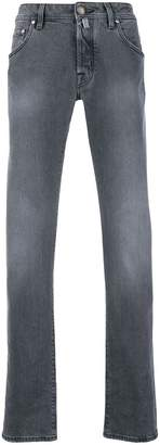 Jacob Cohen bandanna straight-leg jeans