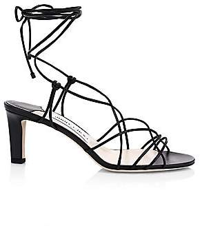 Jimmy Choo Women's Tao Lace-Up Leather Sandals