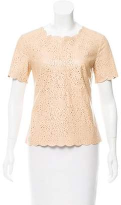 BCBGMAXAZRIA Short Sleeve Top