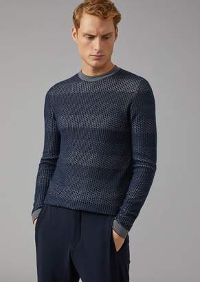 Giorgio Armani Cashmere And Wool Sweater