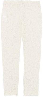 Valentino Lace Slim-Leg Pants