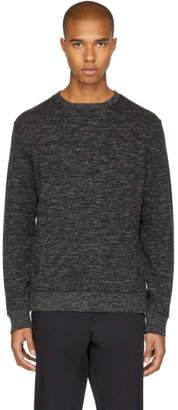 Stone Island Shadow Project Black Kangaroo Sweatshirt