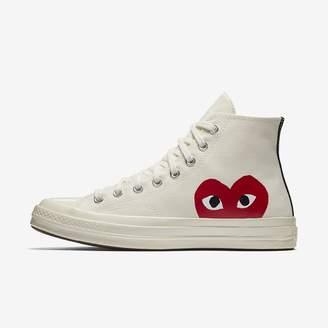 Converse Unisex Shoe x Comme des Garcons PLAY Chuck 70 High Top