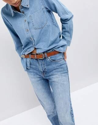 Wrangler western leather belt