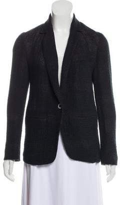 Ulla Johnson Notch-Lapel Linen Blazer