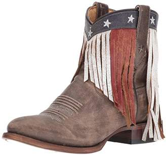 Roper Women's Patriotic Fringe Western Boot