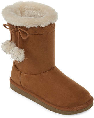 Arizona Little Kid/Big Kid Girls Zenith Winter Boots Flat Heel Pull-on