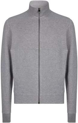 Corneliani Funnel Neck Zip-Up Sweatshirt