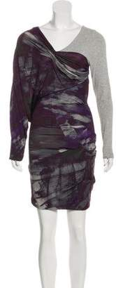 Yigal Azrouel Mini Long Sleeve Dress