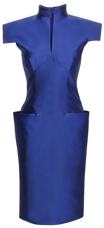 Shantung Silk Dress