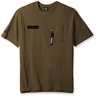 Southpole Men's Crewneck Short Sleeve Fashion Tee