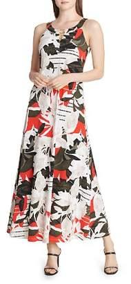 Calvin Klein Printed Maxi Dress