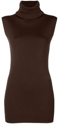 Marni ribbed knit turtleneck top