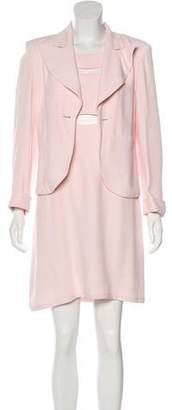 Sonia Rykiel Cutout Crepe Dress Set