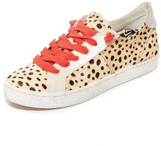 Dolce Vita Zalen Haircalf Sneakers $130 thestylecure.com