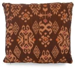 Andrianna Shamaris Ikat Cotton Pillow