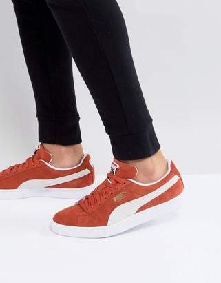 Puma Suede Classic Sneakers In Orange 36534707