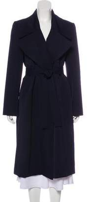 Ellen Tracy Linda Allard Belted Wool Coat