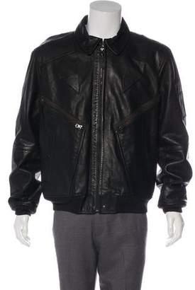 Polo Ralph Lauren Leather Bomber Jacket