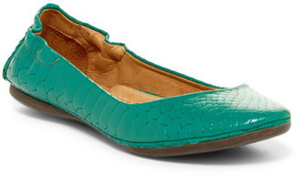 Peter Millar Anaconda Embossed Leather Ballet Flat $198.50 thestylecure.com