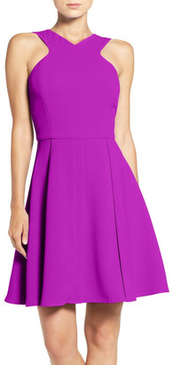Adelyn Rae Fit & Flare Dress $95 thestylecure.com