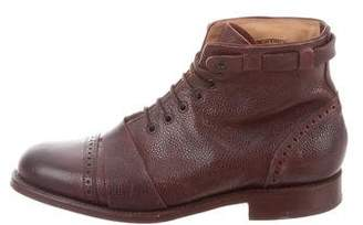Grenson Leather Ankle Boots