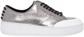 McQ Netil Eyelet Low Silver Sneaker