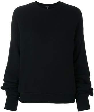 R 13 oversized sleeves sweatshirt