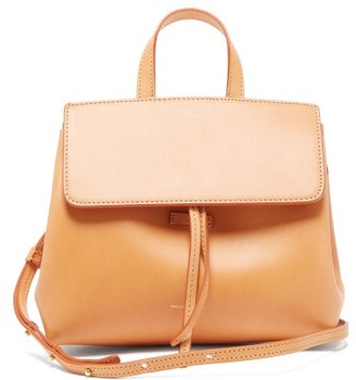 Mansur Gavriel Mini Mini Lady Leather Cross Body Bag - Womens - Brown Multi