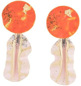Rachel Comey painted drop earrings