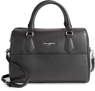 Karl Lagerfeld Paris Winnie Leather Satchel