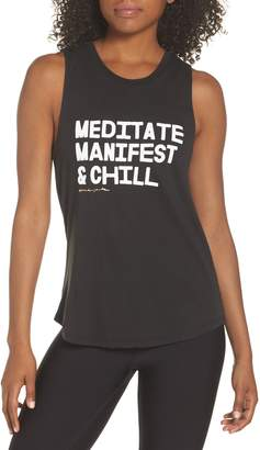 Spiritual Gangster Meditate, Manifest & Chill Muscle Tee