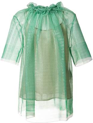 Stella McCartney ruched blouse