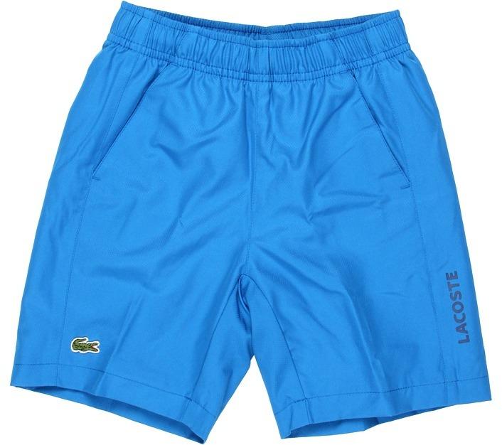 Lacoste Kids - Boy's Taffeta Tennis Short (Little Kids/Big Kids) (Ink) - Apparel
