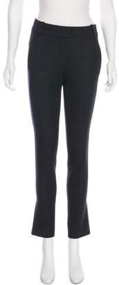 Christian Dior Virgin Wool Mid-Rise Pants