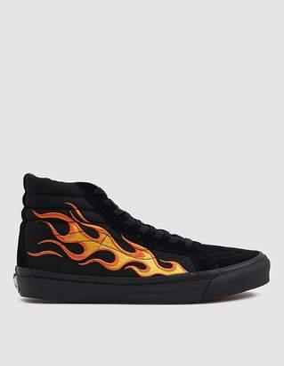 Vans Vault By WTAPS OG Sk8-Hi LX Sneaker in Flame