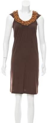 Cacharel Sleeveless Mini Dress